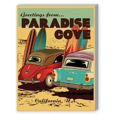 Paradise Cove Graphic Art on Canvas