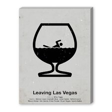 Leaving Las Vegas Graphic Art on Canvas