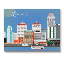 Louisville Graphic Art on Canvas