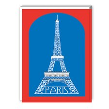 Eiffel Tower Graphic Art on Canvas