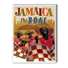 Jamaica Vintage Advertisement on Canvas