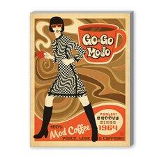 Gogo Mojo Vintage Advertisement on Canvas