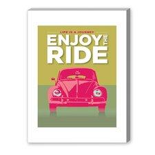 Enjoy the Ride VWB Ug Graphic Art on Canvas