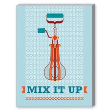 Mix it Up Graphic Art on Canvas