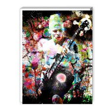 Flea Graphic Art on Canvas
