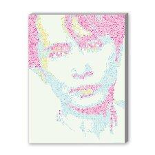 Aung San Suu Kyi Graphic Art on Canvas