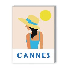 Cannes Graphic Art on Canvas