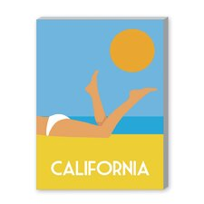 California III Graphic Art on Canvas