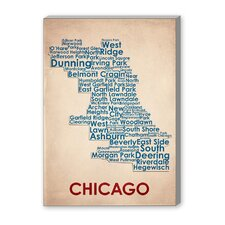 Chicago Textual Graphic Art