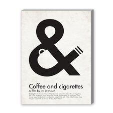 Coffee and Cigarettes Graphic Art on Canvas
