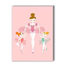 Ballerina Twins Graphic Art