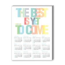 Calendar the Best Textual Graphic Art