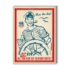 Coastal Seas the Day Vintage Advertisement Graphic Art
