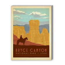 Bryce Vintage Advertisement on Canvas
