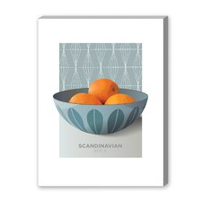 CathrineHolm Oranges Graphic Art on Canvas