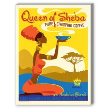 Queen of Sheba Graphic Art on Canvas