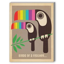 MOD Toucan Graphic Art on Canvas