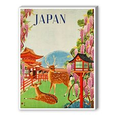 Travel Japan Graphic Art on Canvas