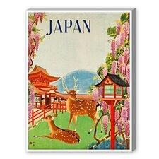 Travel Japan Graphic Art on Canvas