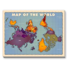 World Map Graphic Art