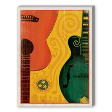Son Guitar Mandolin Graphic Art