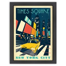 MOD 'New York, Times Square' by Joel Anderson Vintage Advertisement