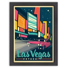 MOD 'Las Vegas: Modern Print' by Joel Anderson Vintage Advertisement