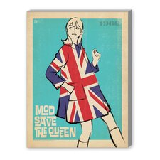 MOD 'Save the Queen' by Joel Anderson Vintage Advertisement