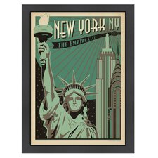 World Travel New York - Empire City Poster