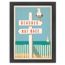 Coastal CC Beach - Rat Race Poster