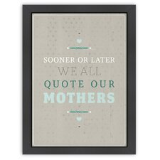 Inspirational Quotes 'Sooner or Later' by Meme Hernandez Textual Art
