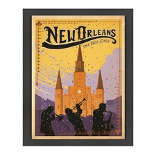 World Travel New Orleans Poster