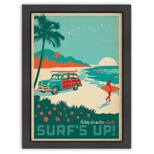 Coastal 'CC Surf's Up!' by Joel Anderson Vintage Advertisement
