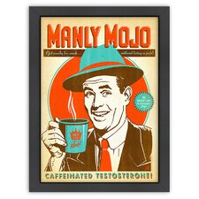 Coffee 'Manly Mojo' by Joel Anderson Vintage Advertisement