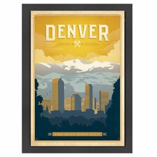 World Travel Denver Poster