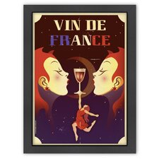 Vin de France' by Diego Patino Vintage Advertisement