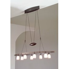 8 Light Low Voltage Chandelier