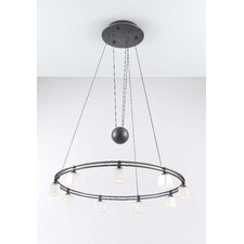 Krystall Square 9 Light Chandelier