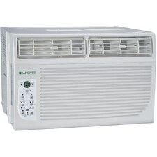 8,000 BTU Energy Efficient Window-Mounted Air Conditioner with Remote