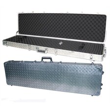 AluminumLock Heavy-Gauge Wheeled Double Rifle Case
