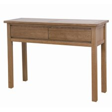 Cubic Oak Console Table