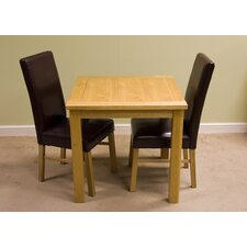 Lyon Oak 3 Piece Dining Set