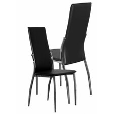 Glass Pisa Dining Chair