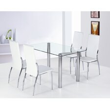 Garda 5 Piece Dining Set