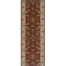Brilliant Farwell Burgandy Rug