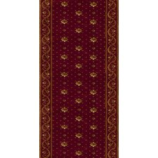 Zealous Rockwall Crimson Rug