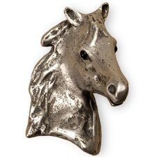 "Curiosities 2.25"" Cabinet Beauty Horse-r Knob"
