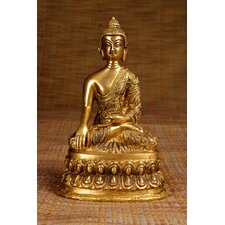 Brass Series Medicine Buddha with Carving