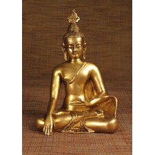 Brass Series Buddha Thai Sitting Figurine