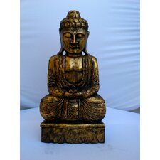 <strong>Miami Mumbai</strong> Wood CarvingsThai Budda Figurine